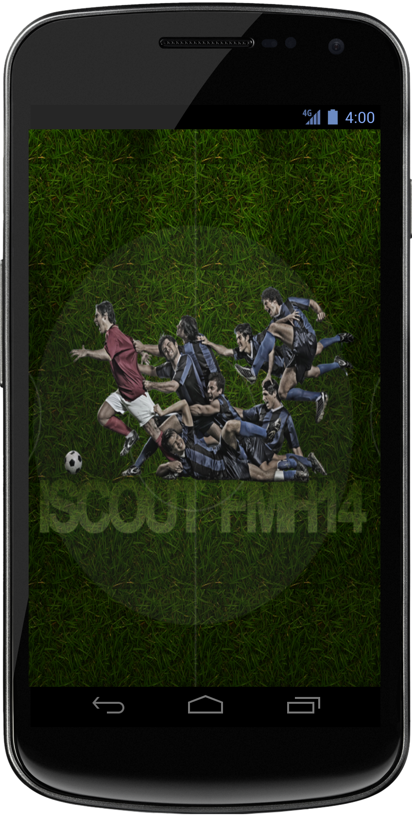 Load up the iScout FMH 2014 Android App.